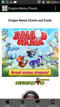 Dragon Mania Cheat and Guide
