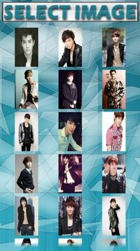 Suho Exo-k Puzzle Game