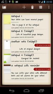 Easypad (widget notepad)