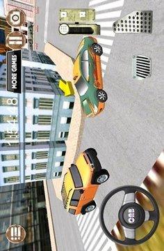 工作站驾驶舱城市驾驶3D