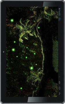 Jungles Night Fireflies HD LWP