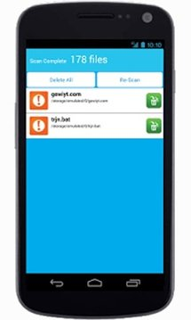 Antivirus Mobile Security Scan