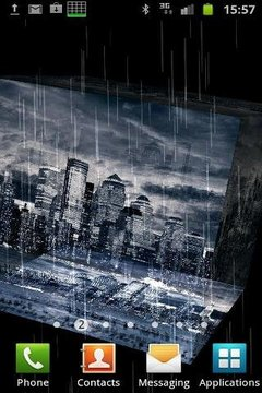 Dark City BW in 3D