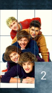One Direction Puzzle Game
