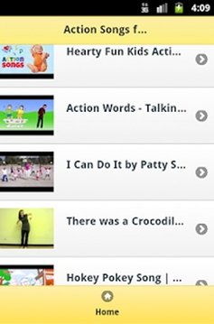 Action Songs for Kids