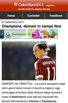 CalcioSport24.it - NEW