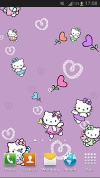 Hello Kitty Angel Live Wallpaper
