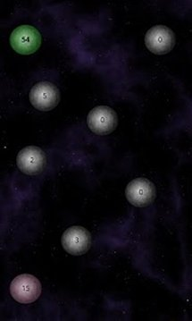 Paint Planets Galaxy Game