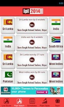 IPL 2014 - Live Score