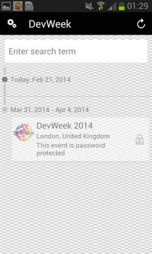 DevWeek Events