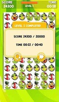 Angry Fruit vs Zombie