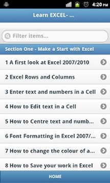 LEARN EXCEL NEWBIE TO EXPERT