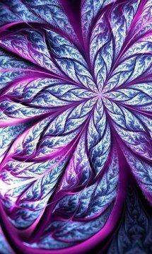 抽象的花朵HD LWP
