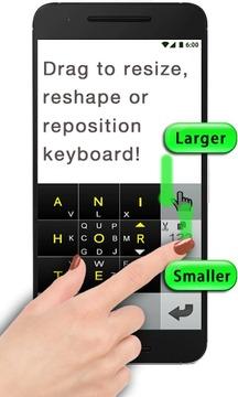 创新式快速键盘