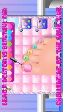 Spa salon - Foot makeover