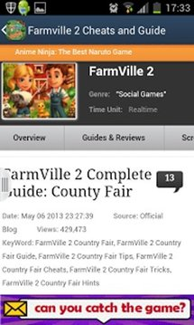 FARMVILLE 2 CHEATS AND GUIDE