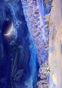 3D winter live wallpaper!