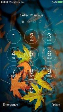 Autumn Lock Screen