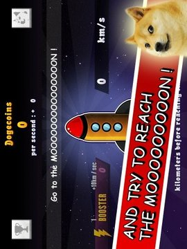 DogeCoin Clicker to the Moon