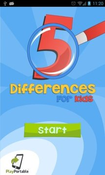 5 differences 4 kids