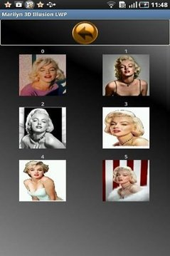 Marilyn 3D Illusion LWP