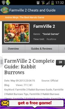 FARMVILLE 2 CHEATS AND GUIDE