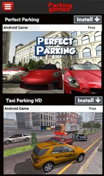 Car Parking Games