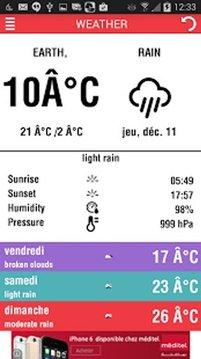 Weather pro - Météo