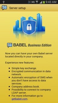 Babel - Encrypted Messaging