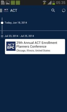 ACT Meetings and Events