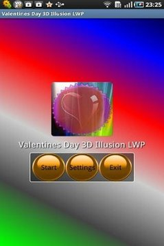 Valentines Day 3D Illusion LWP