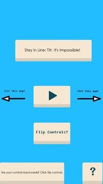 Stay in Line: Tilt Impossible