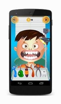 Scary Teeth Dentist