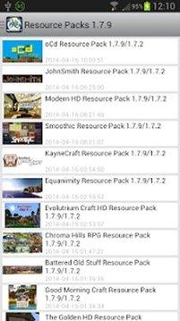 Resource Packs Minecraft PC
