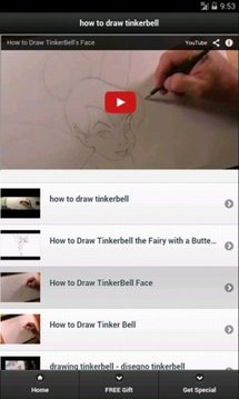 How to Draw Tinkerbell
