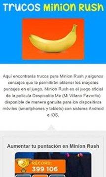 Trucos Minion Rush