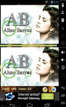 Aline Barros Game difference