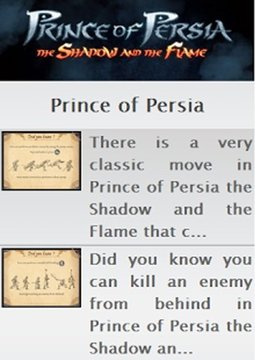 Prince of Persia Shadow Guide