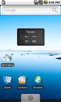 Nascar Countdown Widget