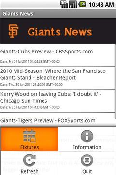 Giants News