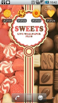 SWEETS&SWEETS-Live Wallpaper +