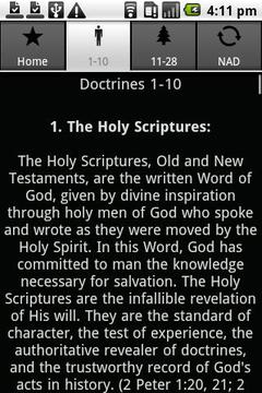 SDA Doctrines