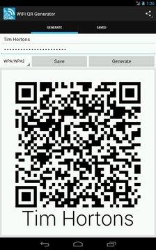Wifi QR 代码生成器