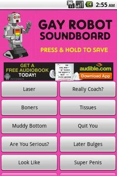 Gay Robot Soundboard