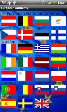 All European National Anthems