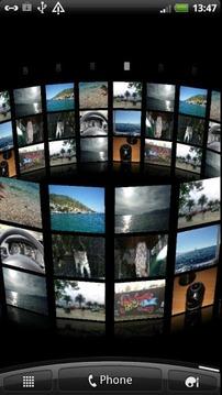 3D Photo Wall Live Wallpaper
