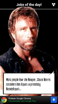 Chuck Norris Joke of the Day!