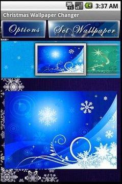 Christmas Wallpaper Changer