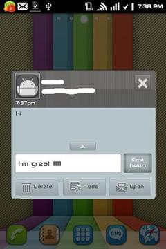 GOSMS iPhone4 Epic Theme