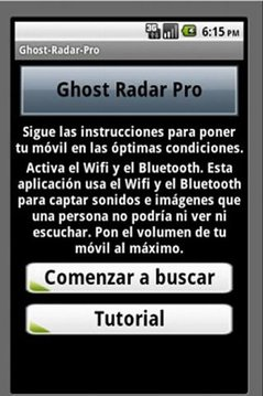 Ghost Detector Android